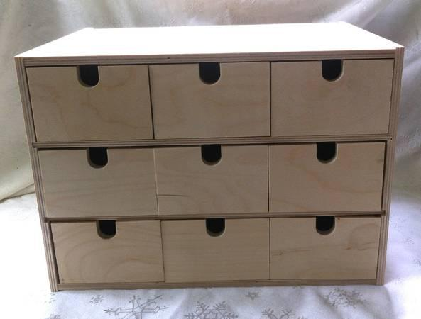 Wood Storage Box Listitdallas