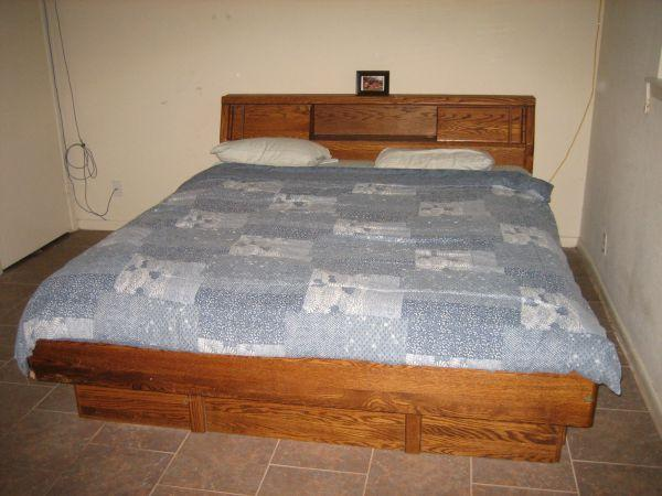 Boxspring Review King Size Converted Waterbed - (sw Houston (stafford)) For