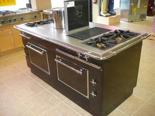 Kitchen Island With Cooktop For Sale Morice Central Custom Island Range W French Top, Grill And