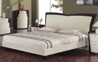 New York Beige-Wenge Finish Queen Size 5pc Bedroom Set for ...