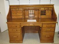 OAK ROLLTOP DESK - (Beavercreek) for Sale in Dayton, Ohio ...