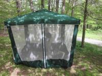 Outdoor Screen Room Lawn Patio Porch Enclosure Umbrella ...