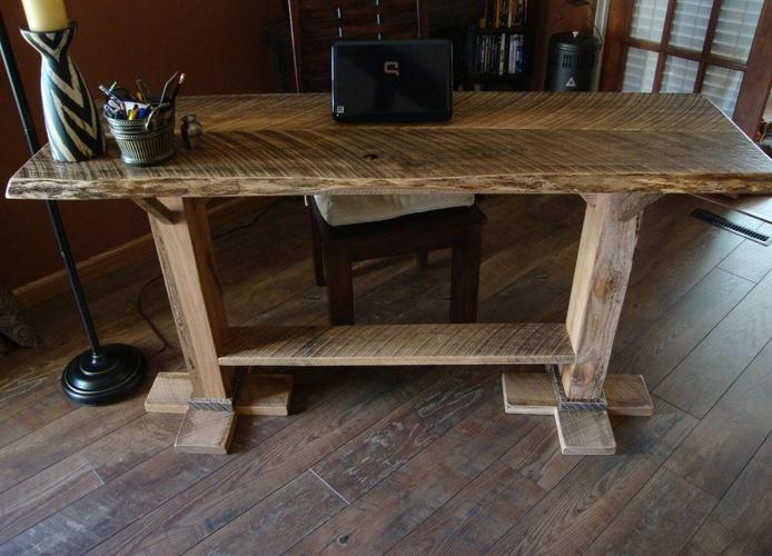 "4x6 Sofa ""sold""! 5' Sofa/entry Table {rustic} New Custom Made"