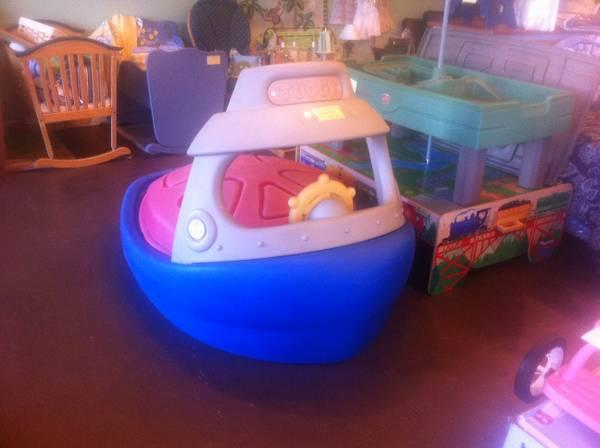 Exersaucer Images Tuggy Tug Boat Sandbox - For Sale In Austin, Texas