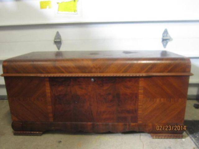 Vintage 1945 Cedar Hope Chest By Lane For Sale In