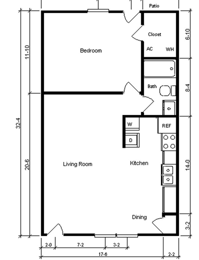 English Village Apartments Rentals   Greenville, NC Apartments   One  Bedroom Apartments Greenville Nc
