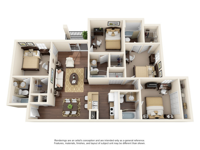 4 Bedroom Apartments In Orlando 38 Bedroom Cheap Townhomes For