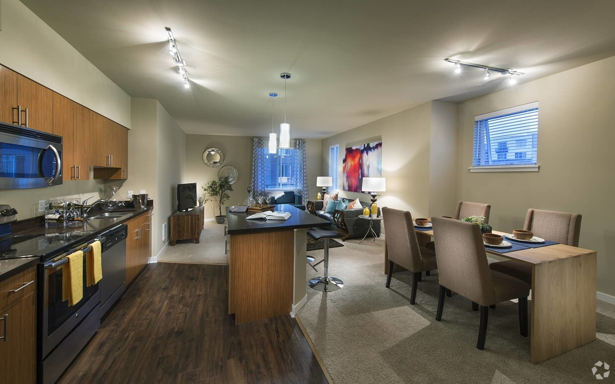 Arete Kirkland Parking New Studio Senior Apartments For Rent In Kirkland Wa Apartments