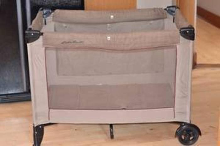 Baby Playpen With Canopy Eddie Bauer Playpen Playard With Bassinet Changer And