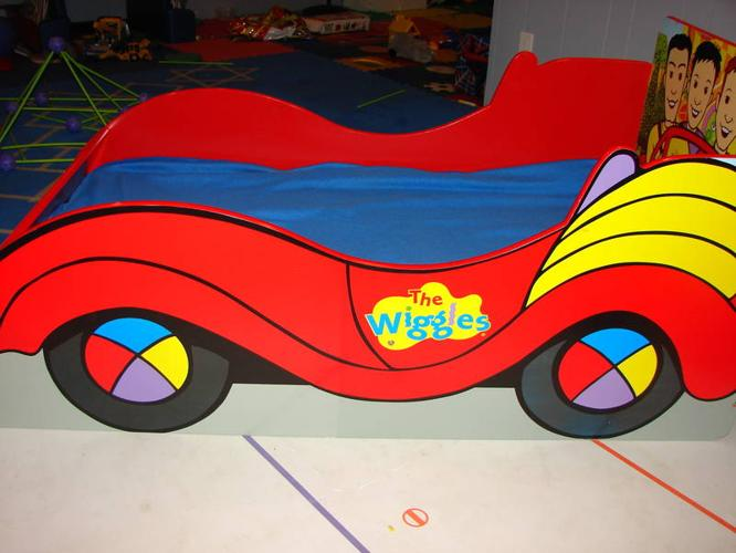 Wiggles Big Red Car Bed For Sale In Sarnia Ontario Baby