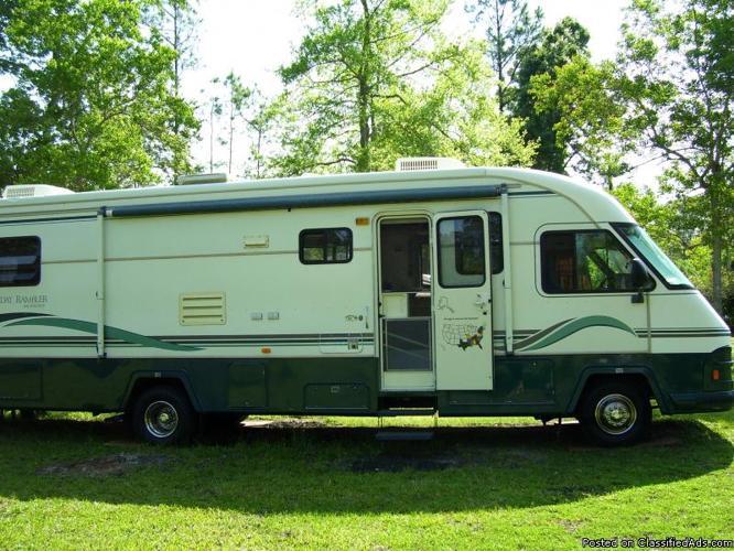 holiday rambler vacationer motor home price reduced wainsford rambler home plan