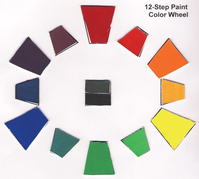 Large Of Color Wheel Paint