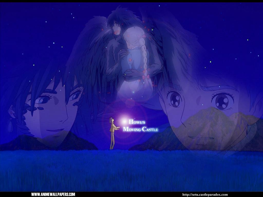 Anime Wallpaper Com Howl Amp Sophie Howl S Moving Castle Wallpaper 913554