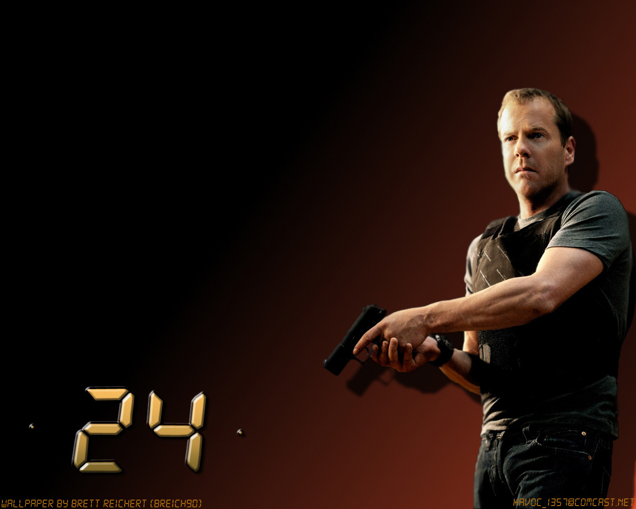 24*24 Jack Bauer 24 24 Wallpaper 1393026 Fanpop
