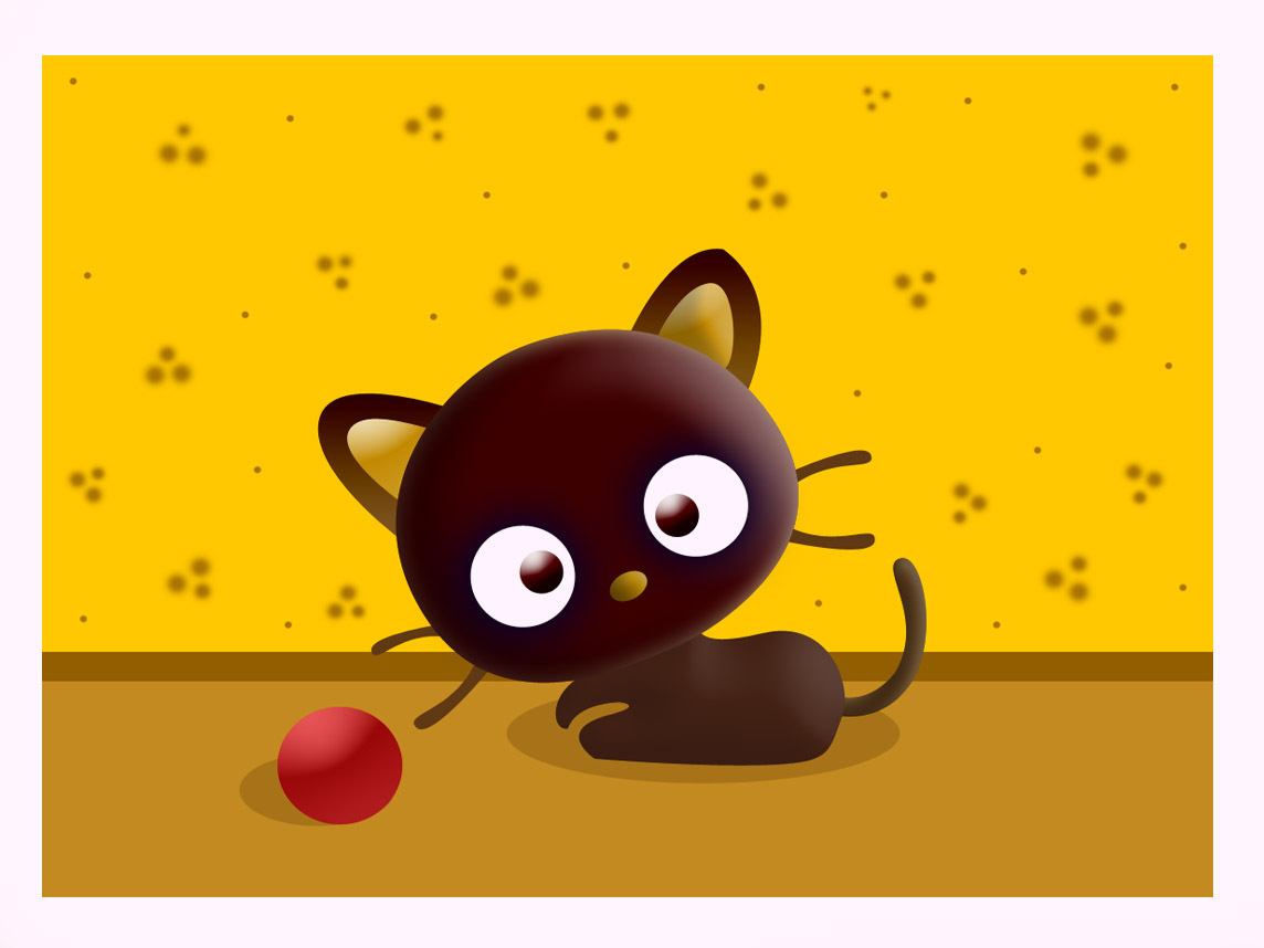 Cute Cat Gif Wallpaper Chococat Images Chococat Digital Art Hd Wallpaper And