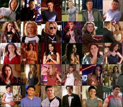 One Tree Hill images main cast through the years HD ...