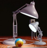 What is the name of the famous little lamp in the Pixar ...