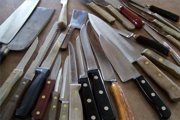 kinds kitchen knives bodum bistro universal knife block handy knife chef knives kids america test kitchen