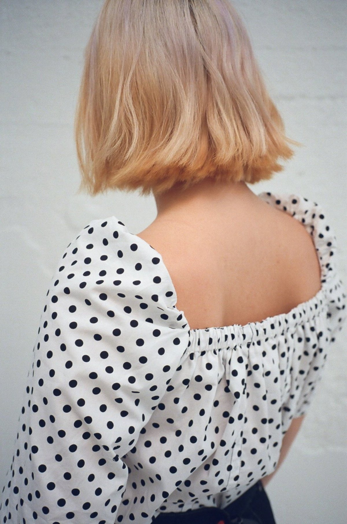 Atelier Seewhy House Of Sunny Posy Top Polka Dot