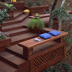 Redwood Deck Boards
