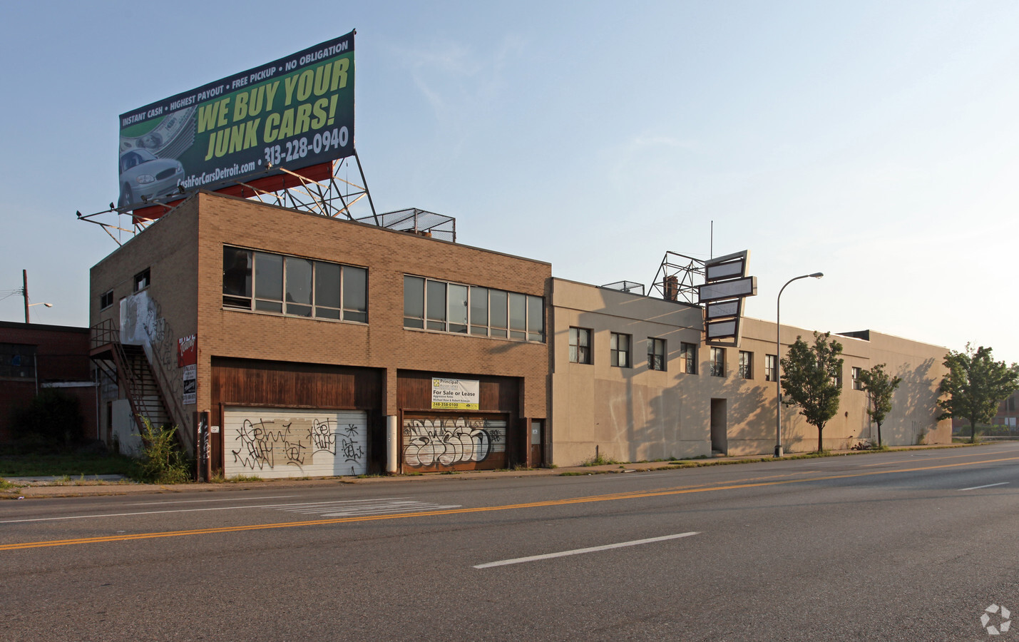 Warehouse For Sale Detroit 2760 W Warren Ave Detroit Mi 48208 Warehouse Property For