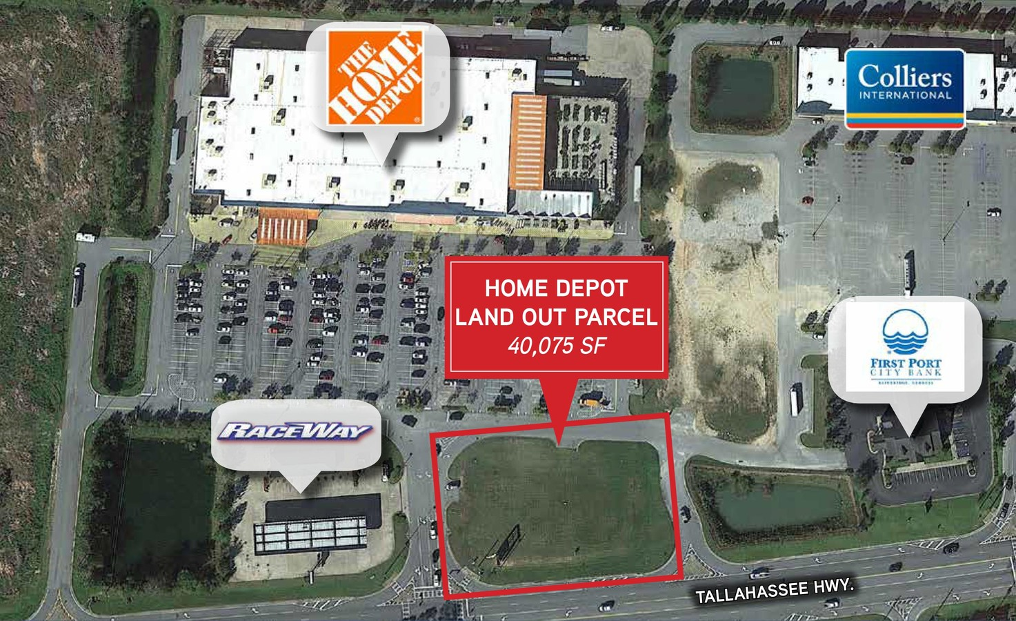 Bank St Home Depot 1414 Tallahassee Hwy Bainbridge Ga 39819 Commercial Property