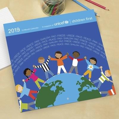 UNICEF Market UNICEF 2019 Wall Calendar with Children\u0027s Artwork