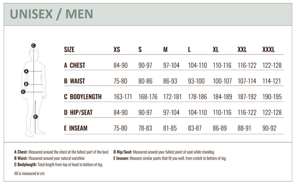 TwentyFour Size Guide