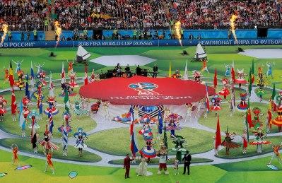 מונדיאל 2018 יצא לדרך ברוסיה בטקס פתיחה מרשים