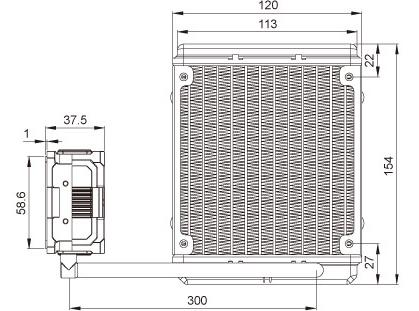 Enermax ELC-LMR120-BS Liqmax II 120s / ELC-LMR120-BS / Liquid CPU Cooler  25mm Fan/ INTEL/AMD with AM4 Support