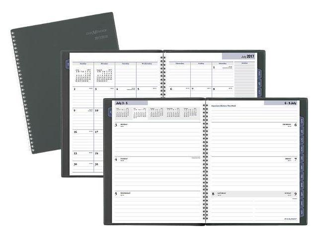 At-A-Glance Academic Weekly-Monthly Planner - Academic Planners