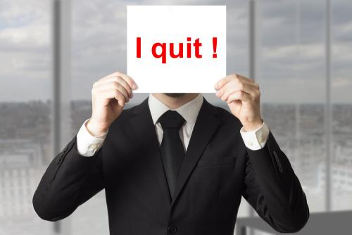 Legal Career Suicide Quitting a Job without Having another One