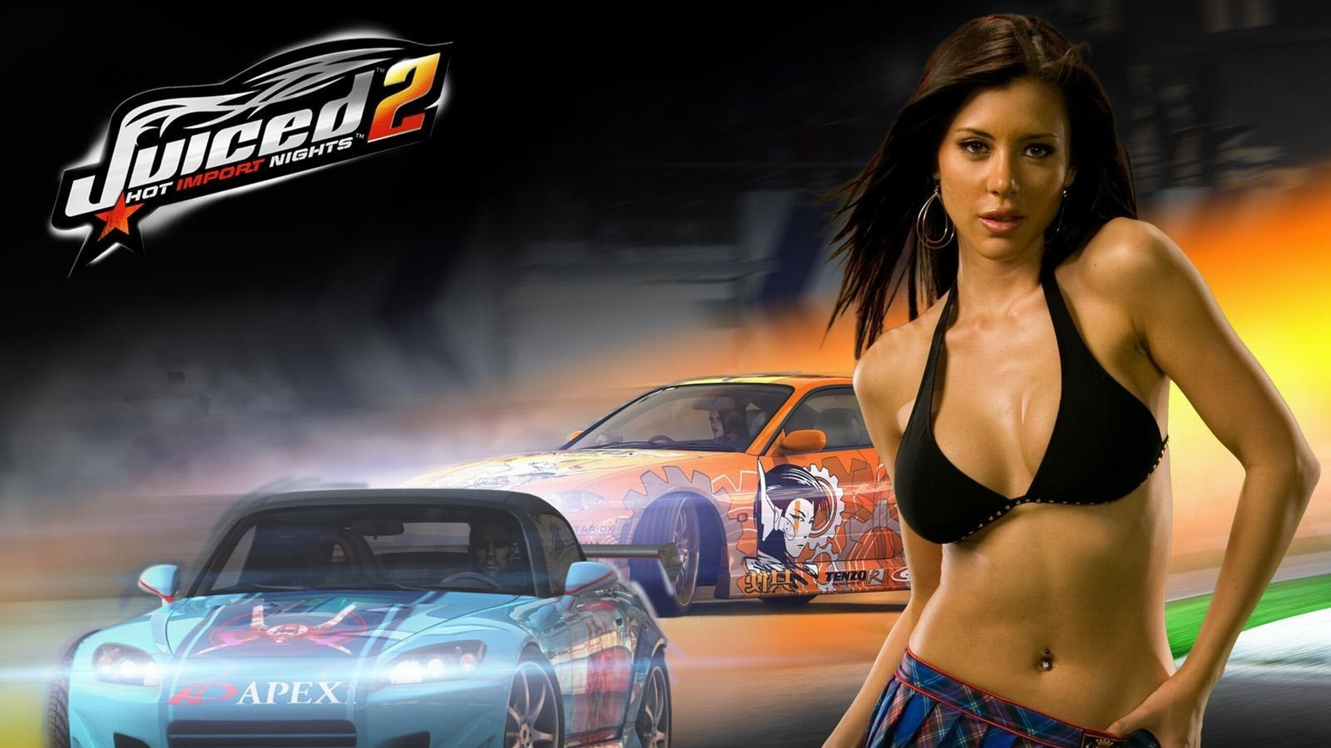 Grand Theft Auto Wallpaper Girl 2 Juiced Hd Wallpapers Background Images Wallpaper Abyss