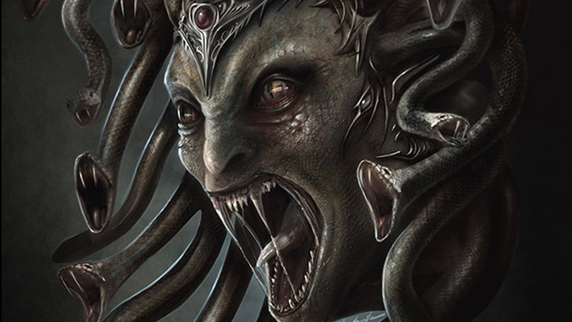 Iphone Wallpaper Maker Medusa Hd Wallpaper Background Image 1920x1080 Id