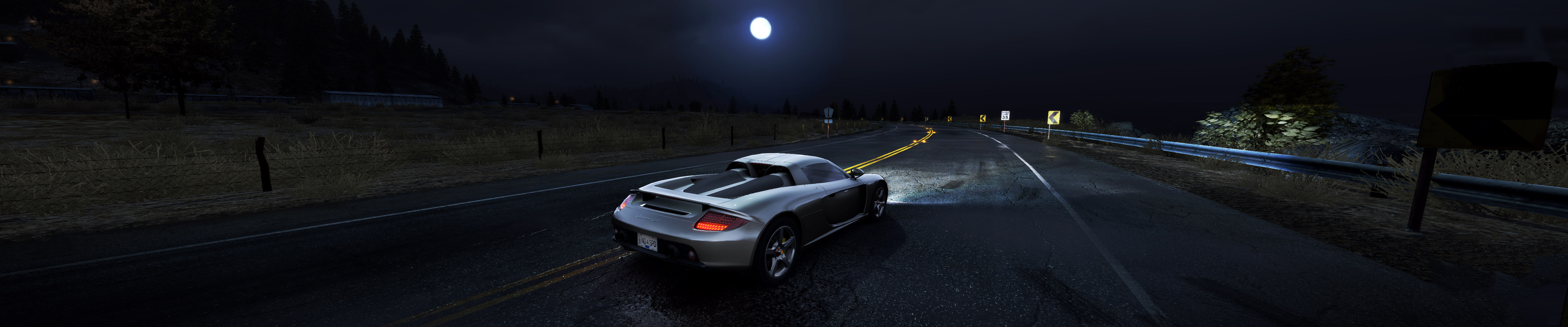Car Dual Monitor Wallpaper 3840x1200 Video Game Full Hd Wallpaper And Background Image