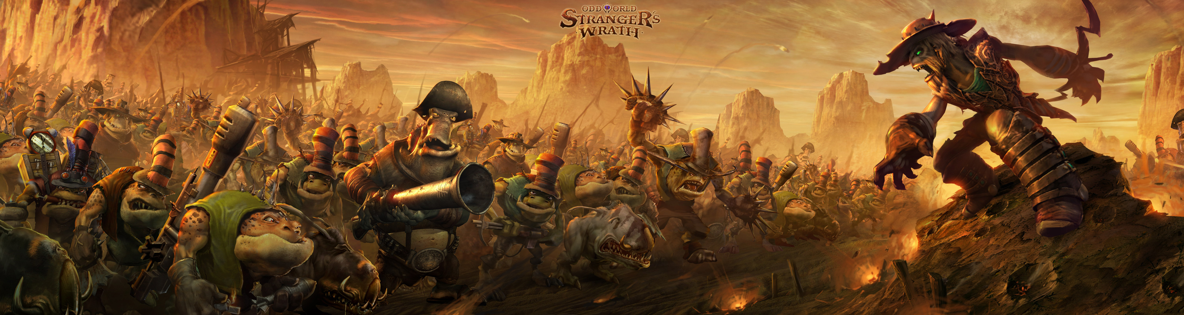 Fall Hunting Wallpaper Oddworld Stranger S Wrath Wallpaper And Background Image