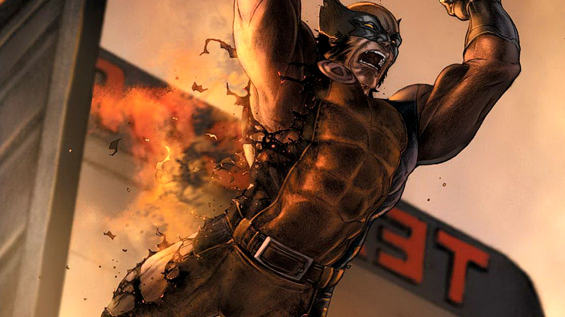 Hd Superhero Wallpapers For Pc Wolverine Full Hd Wallpaper And Background Image