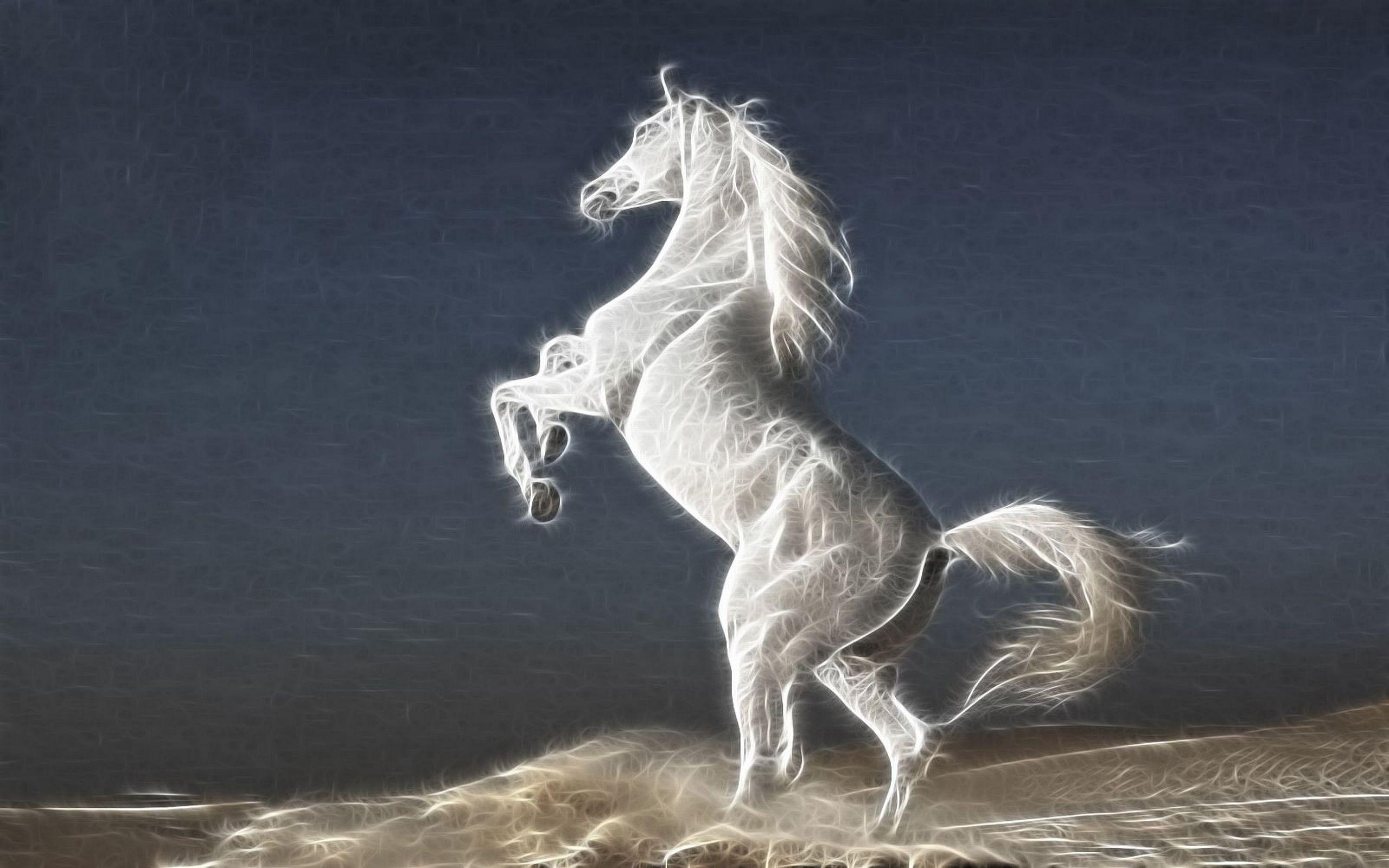 3d Gold Man Desktop Wallpaper Latest Fashion Trends White Stallion Horse Ipad Hd Wallpaper