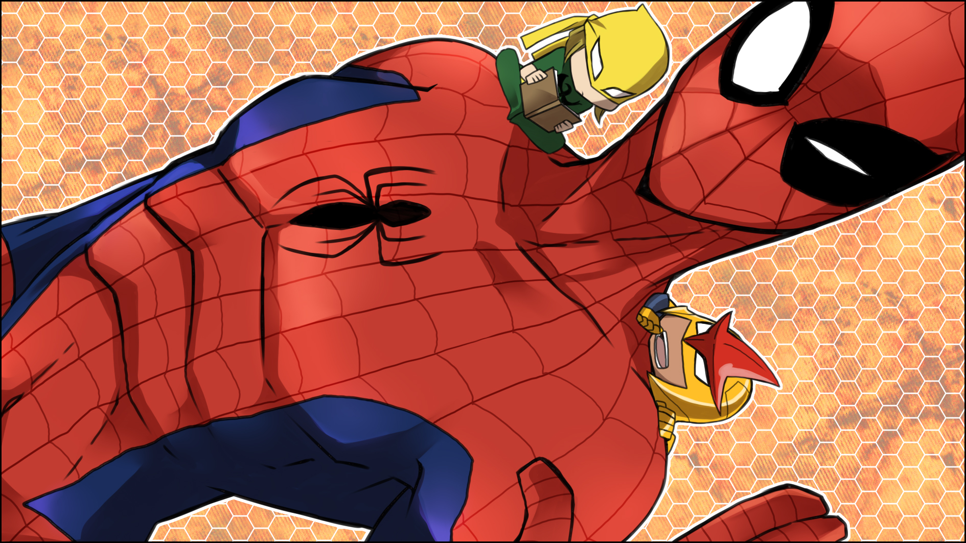 Chibi Hulk Cute Wallpaper Spider Man Wallpaper And Background Image 1890x1063 Id
