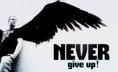 Never Give Up - Angel Computer Wallpapers, Desktop Backgrounds | 1752x1080 | ID:433791