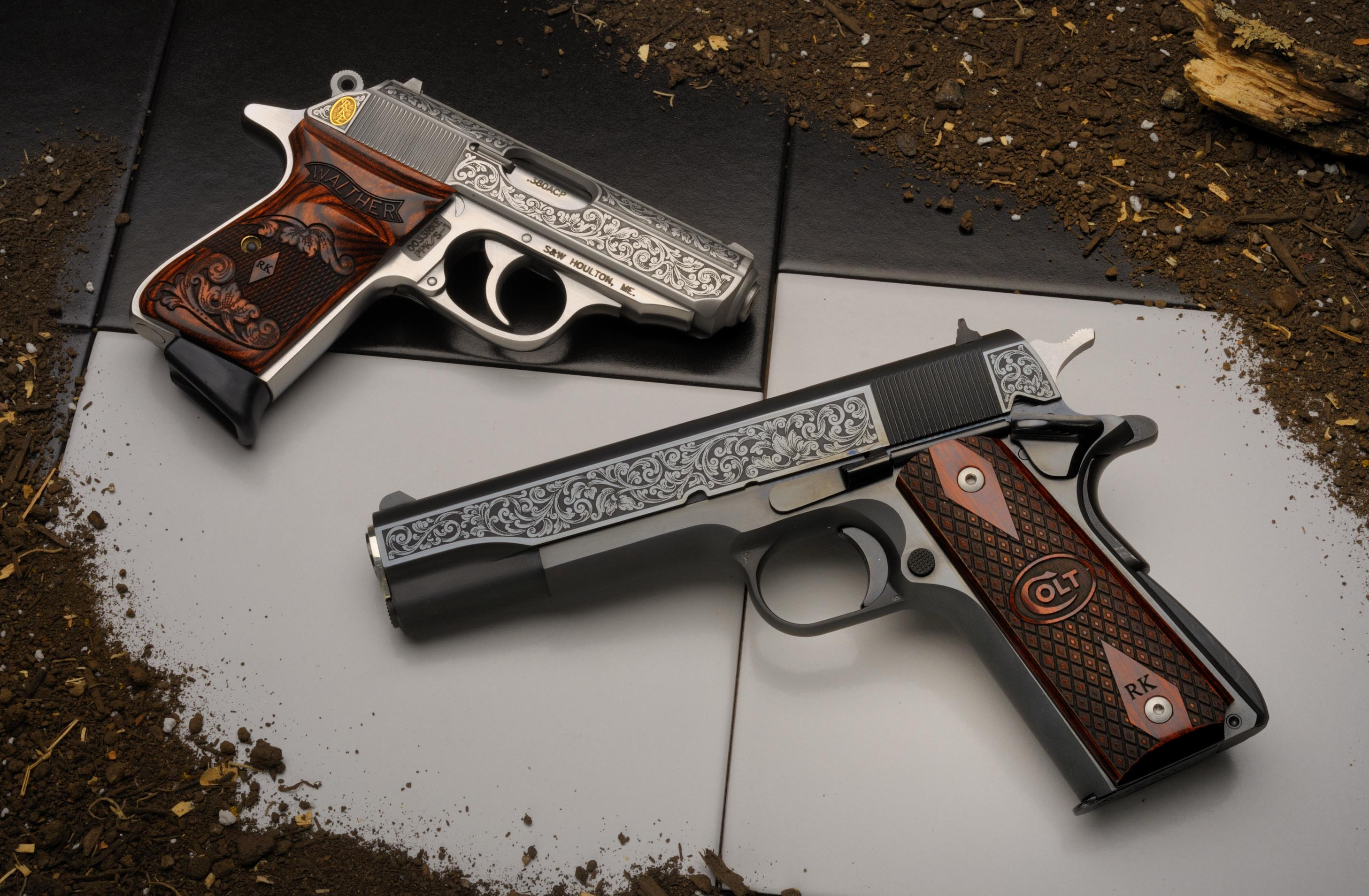 Sig Sauer Iphone Wallpaper Colt Pistol Full Hd Wallpaper And Background Image