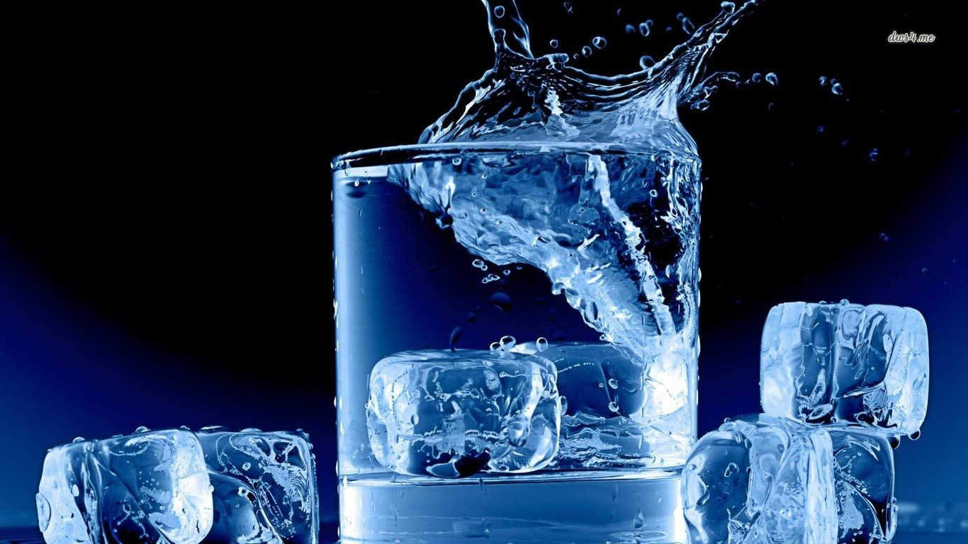 Iphone X Wallpaper Outline Ice Cubes Wallpaper And Background Image 1366x768 Id