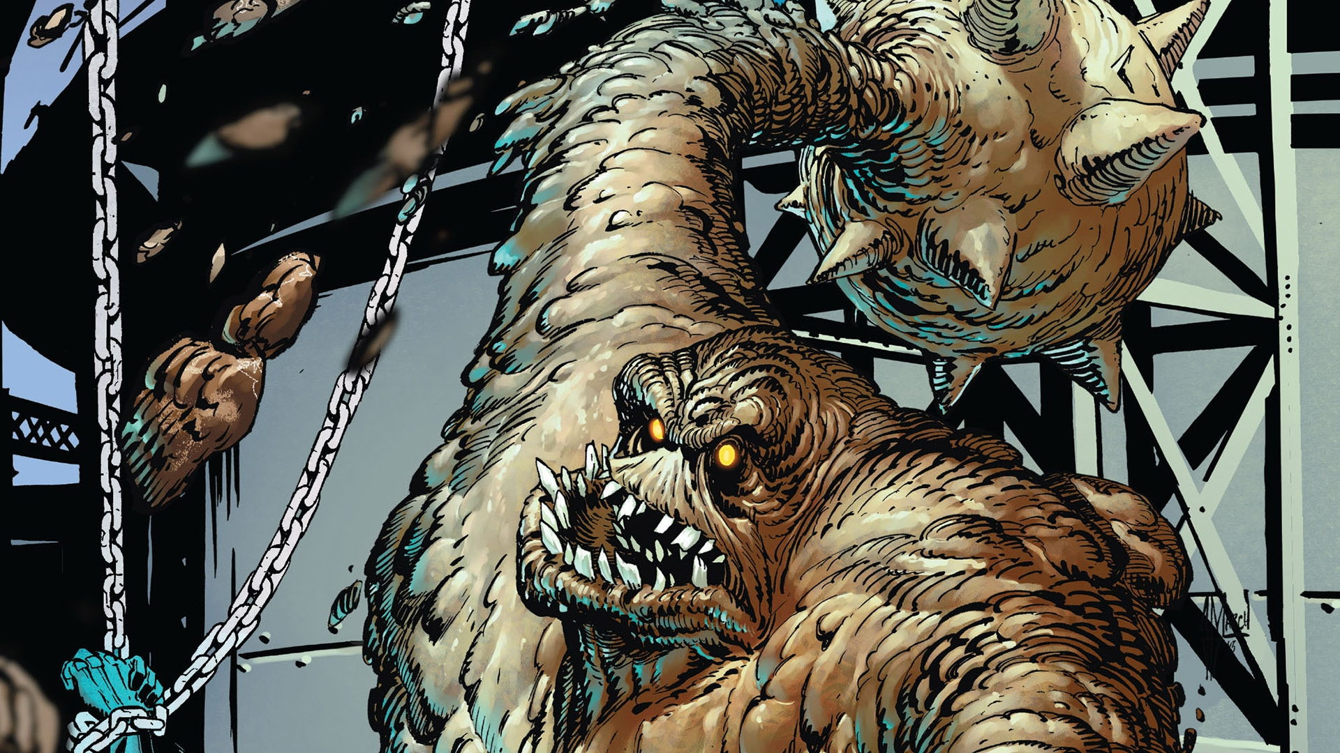 Girl Genius Wallpaper 2 Clayface Hd Wallpapers Background Images Wallpaper Abyss