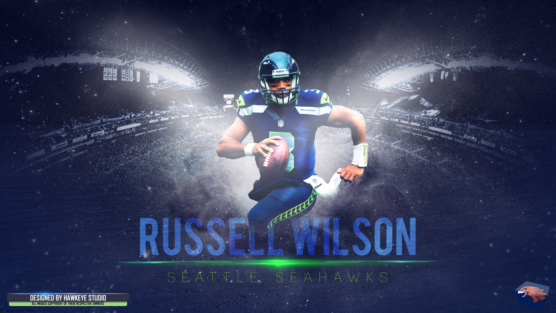 3d Wallpaper Ny Giants Russell Wilson Full Hd Wallpaper And Background Image