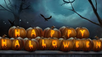 Halloween HD Wallpaper | Background Image | 1920x1080 | ID:552486 - Wallpaper Abyss