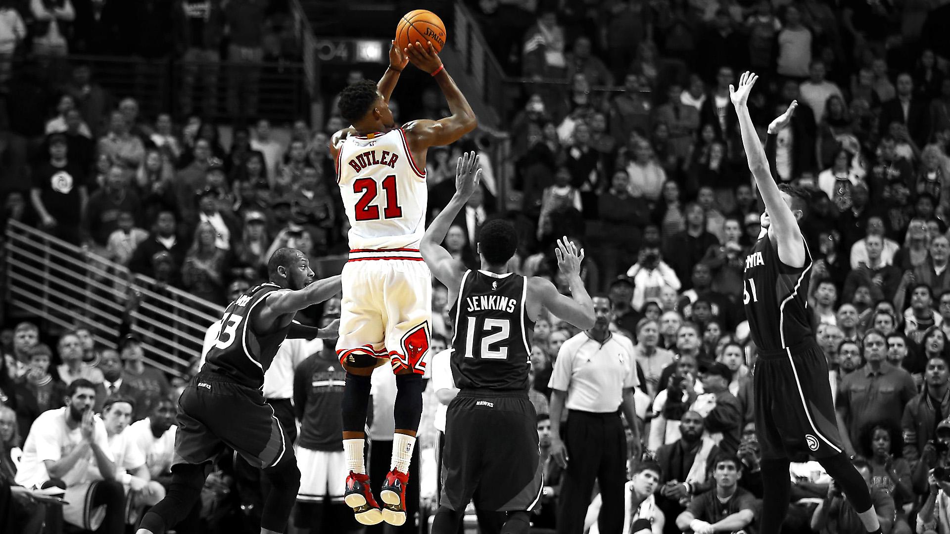 Bulls Iphone Wallpaper Jimmy Butler Chicago Bulls Full Hd Bakgrund And Bakgrund