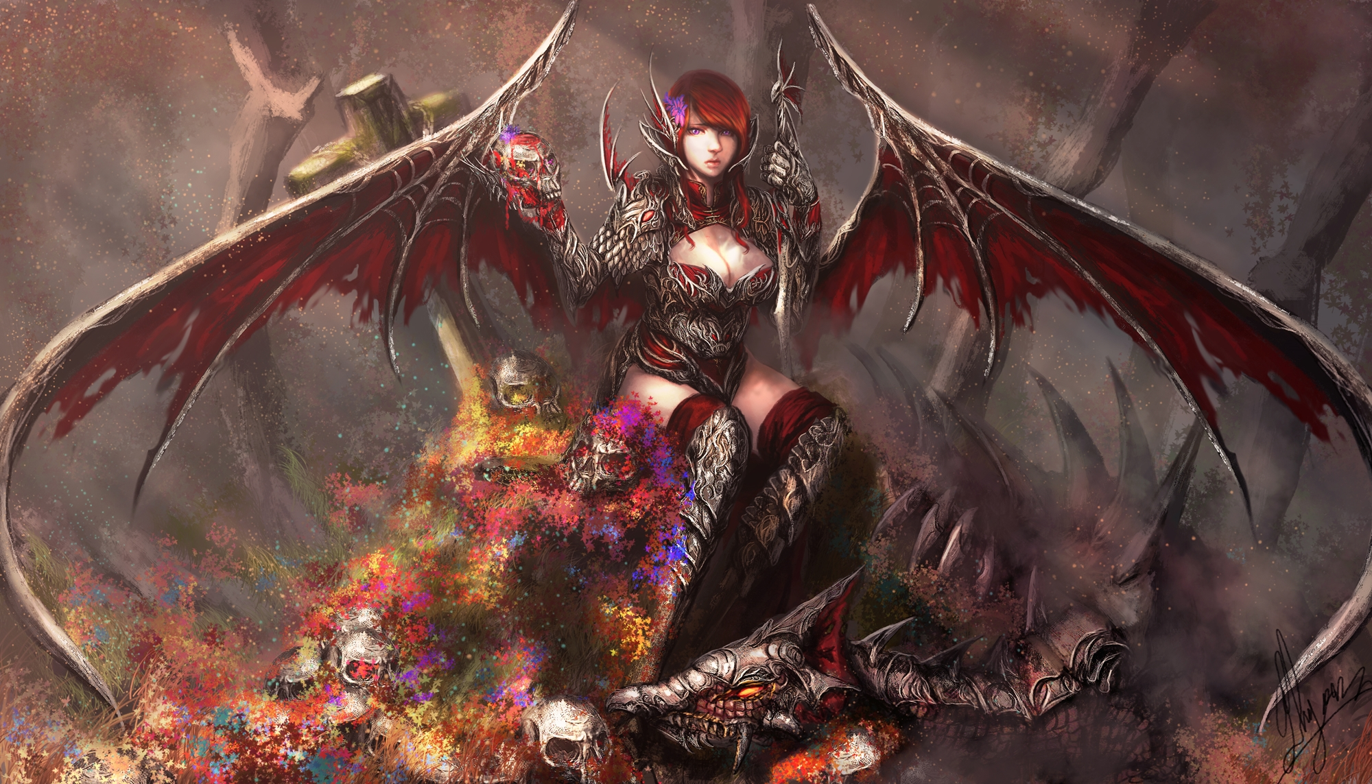 Iphone Wallpaper For Teenage Girl Angel Warrior Full Hd Wallpaper And Background Image