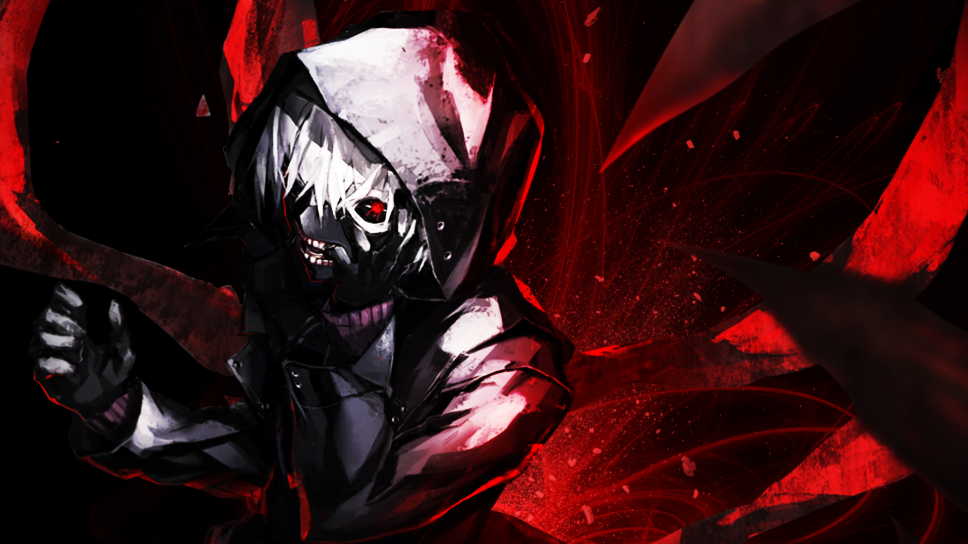 Hd Wallpaper Kaneki Full Hd Fond D 233 Cran And Arri 232 Re Plan 1920x1080