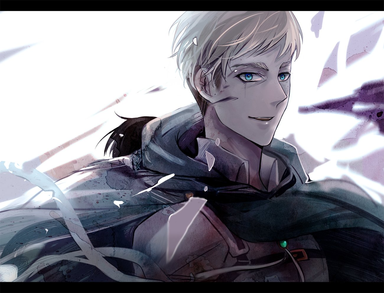Attack On Titan Cute Wallpaper Shingeki No Kyojin Erwin Smith Wallpaper And Background