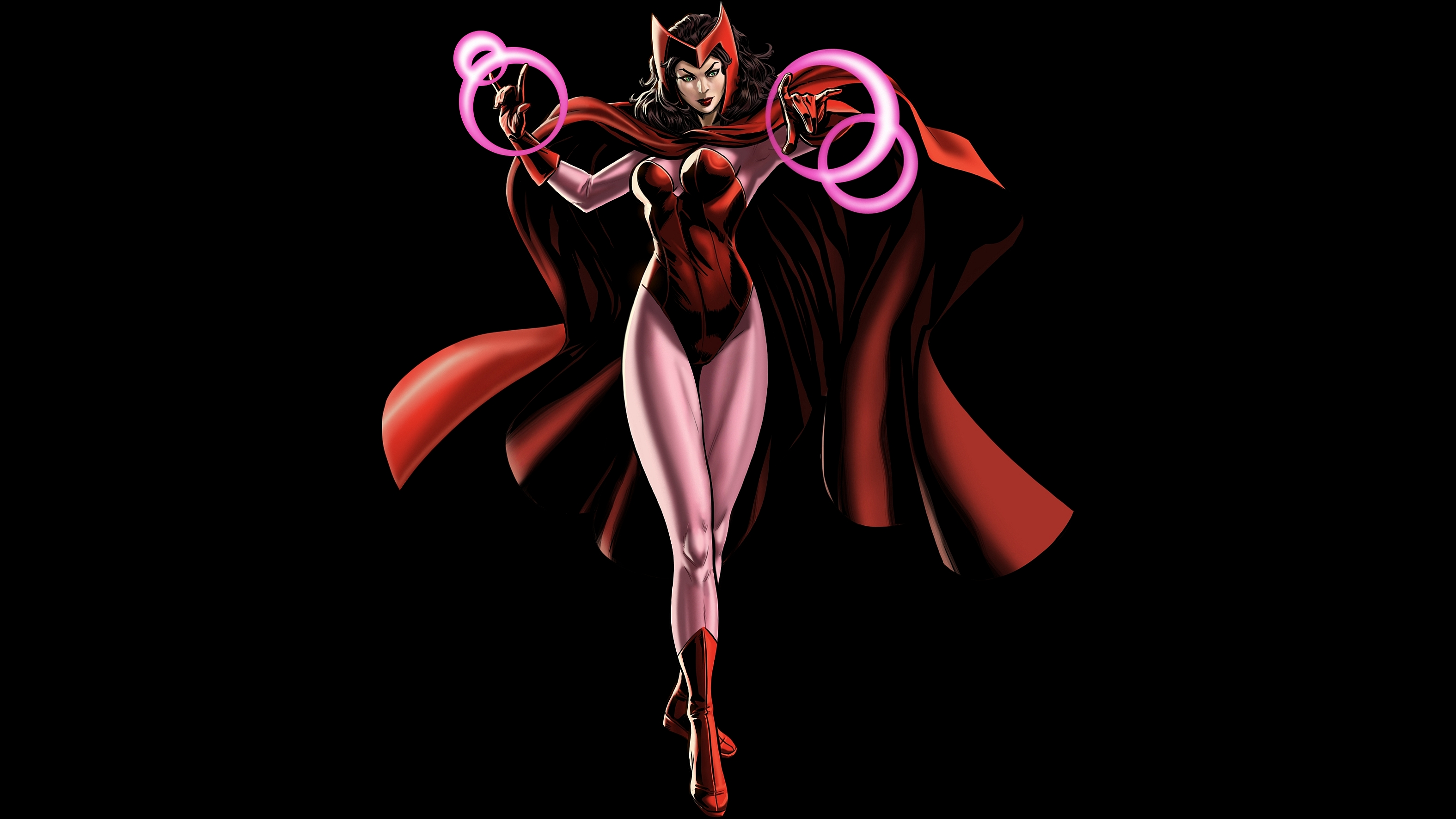 Wallpaper 3440x1440 Girl Scarlet Witch Full Hd Wallpaper And Background Image